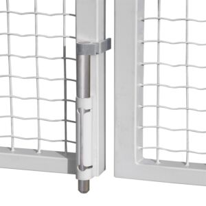 VSA Surface mounted dropbolt (on gate RAL 9010)